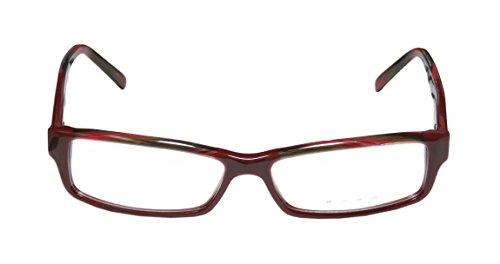 Etro Ve9877 Womens/Ladies Designer Full-rim Eyeglasses/Spectacles (54-14-140, Burgundy / (Green Morph Mask)