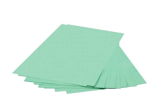 Wausau Paper Exact Multipurpose 20 lb 8 1/2 x 14 Inch Green Pastel Color Paper 500 Sheets (32562)