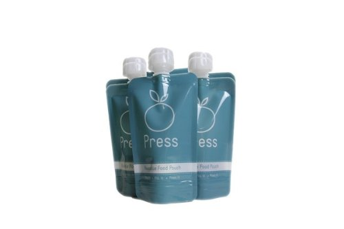 Press Reusable Food Pouch - 6 Pack - 1