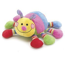 "Colorful Callie the Caterpillar 13"" Long Baby Rattle"