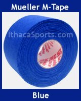 M-Tape Colored Athletic Tape - Blue, 1 Roll