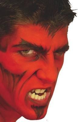 Maquillage diable - Maquillage de diable facile a faire ...