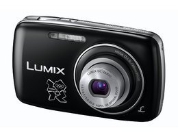 Panasonic DMC-S3WKIT-2012 Digital Camera Olympic Version with Olympic Case - Black