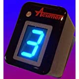 Acumen DG8 PLUG-IN Digital Gear Indicator - Blue Display - Suzuki Hayabusa