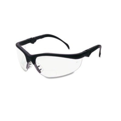 klondike-magnifier-safety-glasses-with-black-frame-and-clear-15-diopter-lens-by-crews