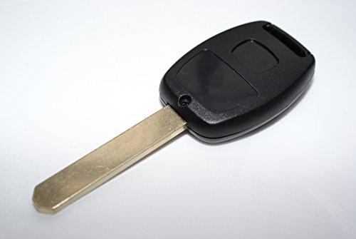Chequers Motorstore Schlüsselbehälter für Fernbedienungsschlüssel für Honda Civic CR-V Accord / Jazz Hrv Stream 3 Tasten, Schlüsselanhänger-Schutzhülle Tasche Case
