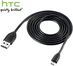 New Original OEM HTC One/S/V/X/X+, EVO 4G LTE, EVO Design 4G, INCREDIBLE 4G LTE, Droid DNA, Desire C, HD2, HD7, HD7S, Vivid, Radar 4G, HD7S, Status/Chacha, Sensation 4G, Trophy Premium Quality Black USB Sync Data Cable Charger