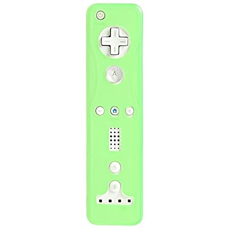 CommonByte New Green Right Remote Wiimote Controller Silicone Skin Case for Nintendo Wii U