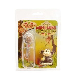 Bundle Mini Mini Monkey and 2 pack of Pink Silicone Lubricant 3.3 oz