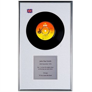 Personalised Framed Record by AFI
