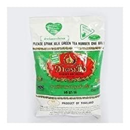 Number One Milk Green Tea Thai 1 Box 200 G