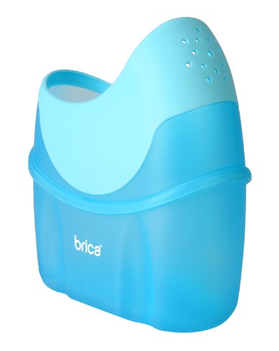 Brica Shower And Rinse Bath Pitcher, Blue front-511800