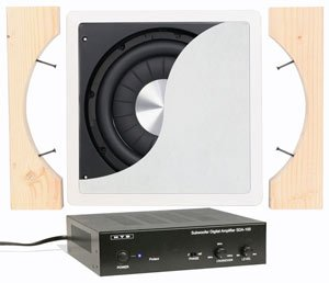 Hd In-Wall Powered Subwoofer