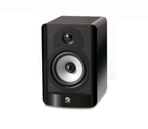 Boston Acoustics A 25 Compact Two-Way 5.25-Inch Woofer Bookshelf Speaker (Each, Gloss Black)