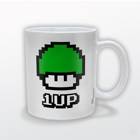 Super Mario Bros 1Up Mug
