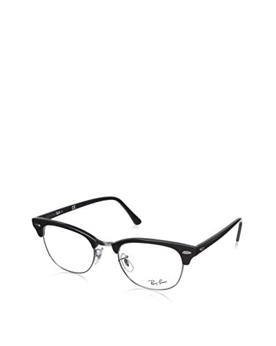 Ray Ban Clubmaster RX5154 Rx Ready Eyeglasses, Black/Demo Lens