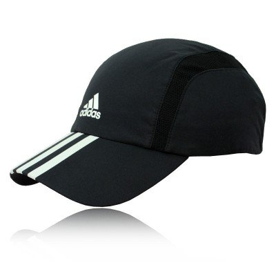 c283f754570 Adidas Run ClimaCool 3-Stripes Running Cap - One