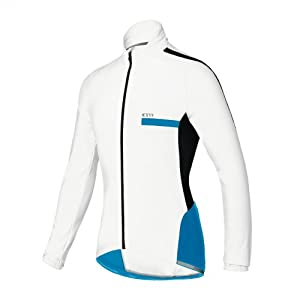 CAMPAGNOLO Zamak Cycling Jersey Gentlemen Full Zip white/blue (Size: XXL)
