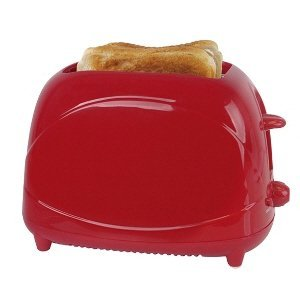 Lloytron Plc-2 Slice Red Toaster - E2010Rd