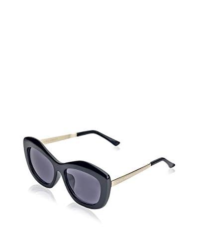 Laura Ashley Women's LA1102 Sunglasses, Black