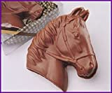 Christmas day gift Solid Milk Chocolate Gift Boxed Horse / Pony For Adults & Children