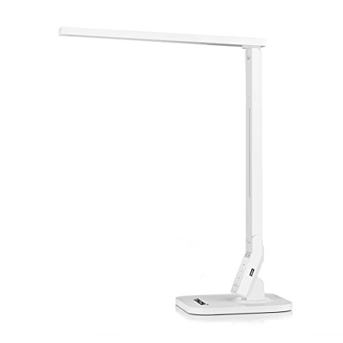 Led desk lamp thzy dimmable 5 lighting modes touch for 12v table lamp