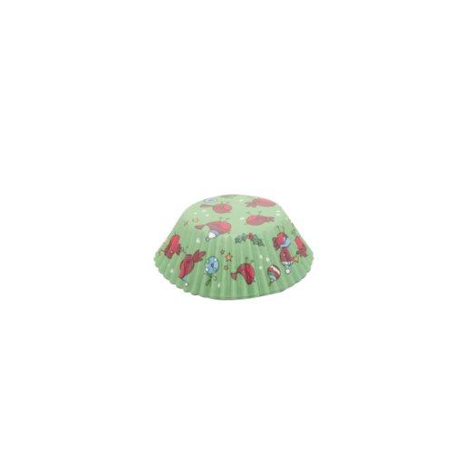 Rayware Mason Cash - Envoltorios y adornos para magdalenas (24 unidades), diseño navideño, multicolor