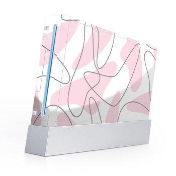 Wii Skin + nunchuck skin Skin-Boomerang Pink
