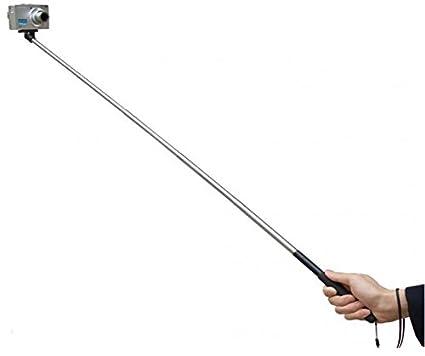 スマホ & デジカメ & ハンディカム 伸縮可能 自分撮り グリップ付き(ロングタイプ) 一脚 スティック キット スマート