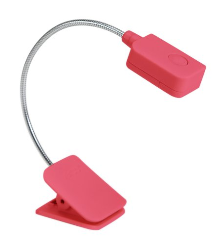 Verso Clip-On Reading Light for Kindle (Red)