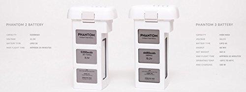 DJI 4480 mAh für Phantom 3 Advanced / Professional - 4
