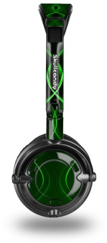 Skullcandy Lowrider Headphone Skin - Abstract 01 Green - (Headphones Not Included)