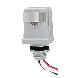 Intermatic K4121C 120-Volt Stem Mount Photo Control