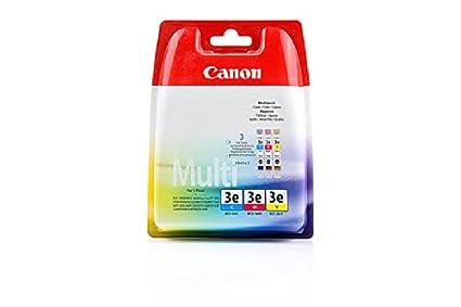 Canon ImageClass MPC 600 F - Original Canon 4480A262 / BCI-3E - Pack Promo (C,M,Y) -