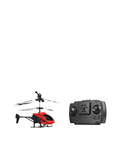 F&P Helicóptero Radiocontrol Rojo