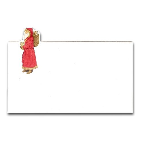 Red St. Nick Place Cards, Pack Of 10 front-382747