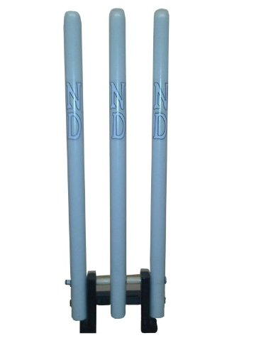 ND Sports Cricket Wickets/Bails Spring Back Stumps 3-Pieces Senior