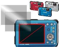 Digital Camera Anti-Fingerprint Display Protection Film (Pro Guard AF) for Panasonic Lumix DMC-TS3 (FT3)