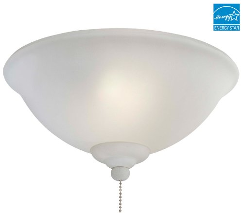 Minka Aire K9380-1 Ceiling Fan Light Kit - French Scavo Glass - ENERGY STAR