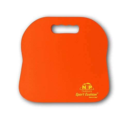 NEP Outdoors Therm-a-Seat Sport Cushion Sporting Event Seat Pad, Orange (Heated Chair Cushion compare prices)