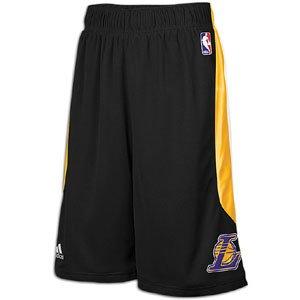 adidas Los Angeles Lakers Black CB Basketball Shorts by adidas