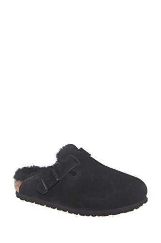 Boston Shearling Fur Flat Slide