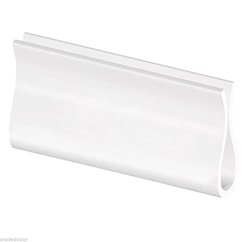 Roller Window Shade WHITE HEM GRIP from Shade Doctor of Maine (Window Shade Replacement Parts compare prices)