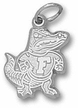 "Florida Gators 1/2"" ""Classic Albert"" Charm - 14KT White Gold Jewelry"