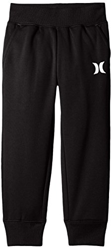 Hurley Little Boys' Therma-Fit Jogger, Black, 4T
