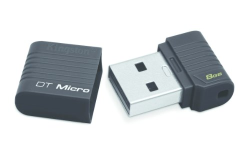 Kingston DT-Micro USB Flash 8GB, Nero