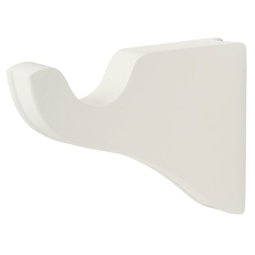 Support Bracket in White finish for a 1-3/8