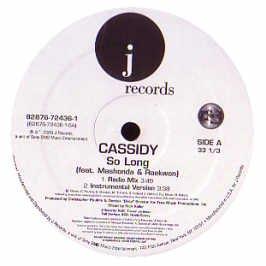 Cassidy Feat. Mashonda / So Long