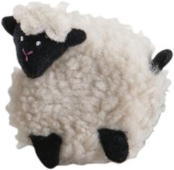 "Read About Lantern Moon Crocheted White Sheep 60"" Tape Measure"