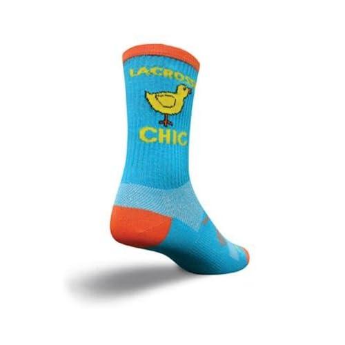 SockGuy Crew 6in LAX Chick Lacrosse Socks